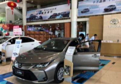 丰田本田8月中国新车销量双创新高