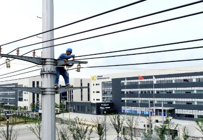 安徽定远:全力服务重大项目电力建设