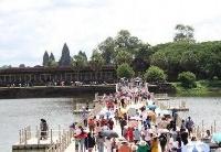 前8月柬埔寨吴哥门票收入大幅缩水