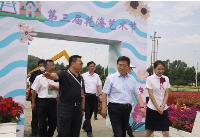 长春市委书记王凯、市长张志军率300多人参观团走进莲花山看乡村振兴