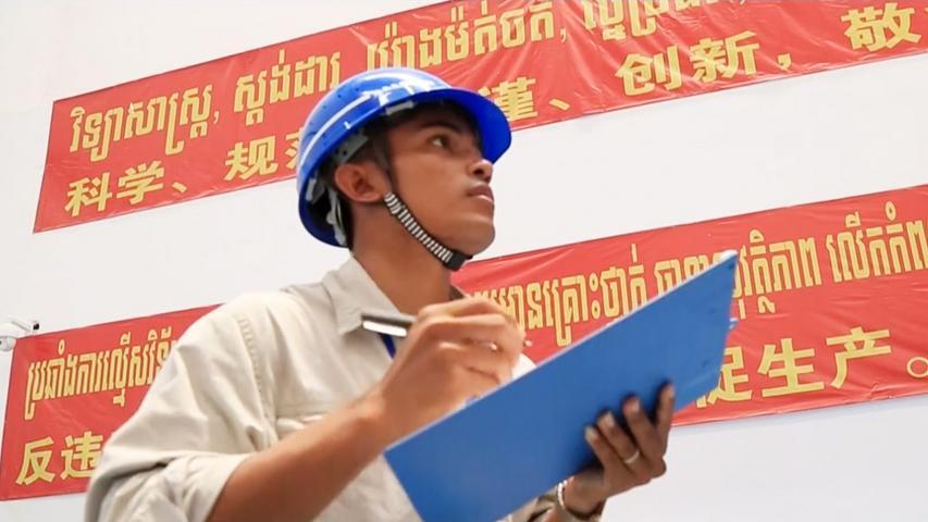 """""""一带一路""""在地生活微视频——《柬埔寨小伙的""""变形记""""》"""