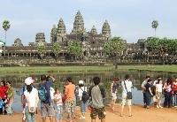 9月份到访柬埔寨吴哥国际游客不到3千人