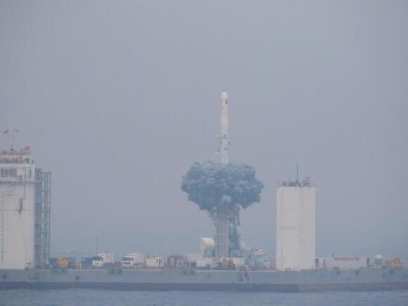 突破极限:中国成功实现首次海上商业化应用发射