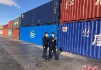 中蒙最大陆路口岸今年以来进出境中欧班列突破1800列次