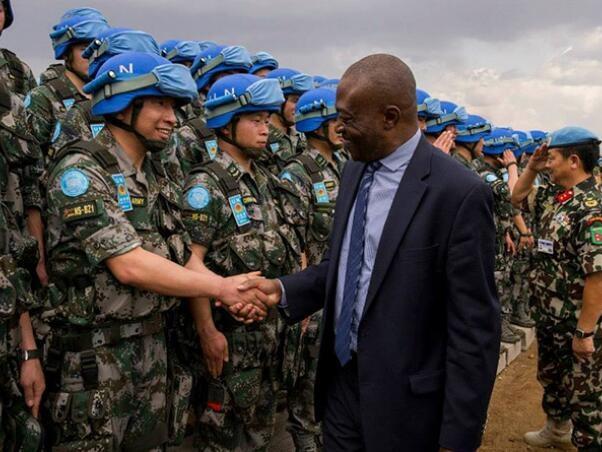中国在非安全行动日益加强