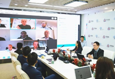 千城攻略TCSA在RBWC's IMF/World Bank 年会做《国家级经济大脑构建方案》的报告