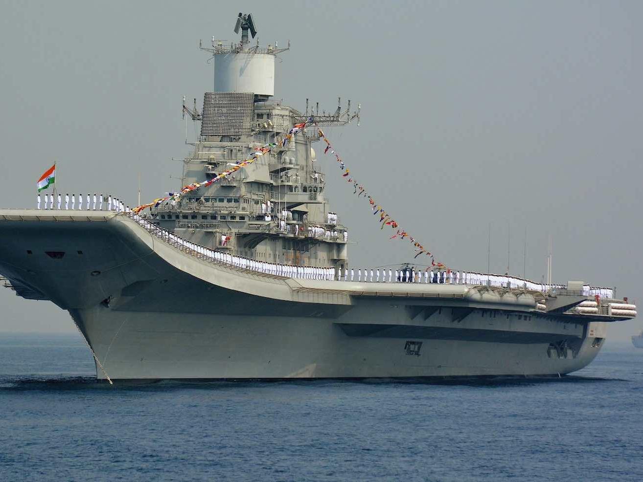 专家强调印度亟需第三艘航母