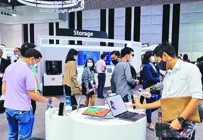 中国企业助力泰国打造东盟数据枢纽