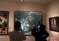 """第四届""""朝圣敦煌""""全国美术作品展15日在甘肃敦煌开幕"""