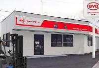 比亚迪在日本建立首家电动叉车直营店