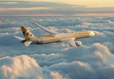 阿联酋阿提哈德航空公司宣布新航线飞往以色列