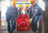 宝钢股份湛江钢铁三号高炉本体耐材正式开始砌筑