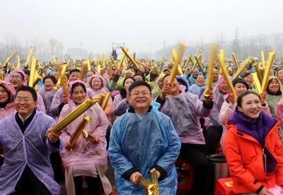 央视《喜上加喜》栏目走进安徽凤阳