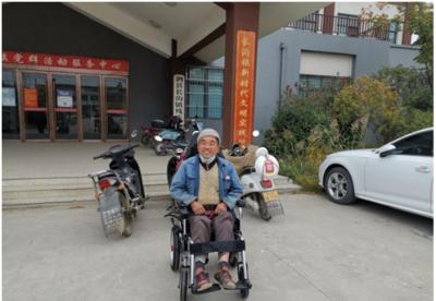 安徽泗县:助残关爱送温暖 志愿服务传爱心