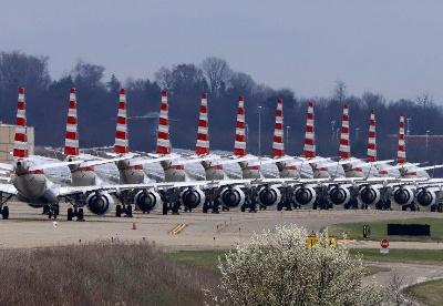 美国航司继续削减12月航班