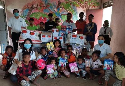 中铁驻东帝汶机构帮助东社区开展系列善举