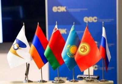 2020年欧亚经济联盟成员国经济增速将下降4.4%