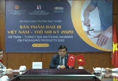越南企业与土耳其企业加强在包装生产领域上的合作