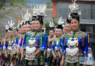 贵州从江举行侗族大歌百村歌唱大赛