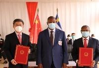 中非总统向中国援中非第17批医疗队授勋