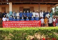 中国援桑给巴尔医疗队开展乡村义诊活动