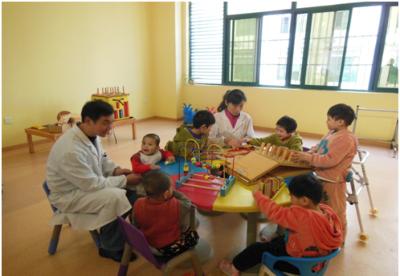 """安徽蚌埠:""""扶禾""""计划促进孤残儿童健康成长"""