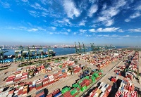 天津港2020年集装箱吞吐量同比增长6.1%