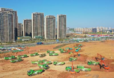 """合肥高新区:民生工程复工忙  努力实现""""开门红"""""""