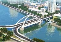 菲律宾公共工程和公路部部长考察中国援菲大桥项目