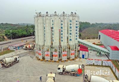 广湛高铁第七标段施工全面拉开序幕
