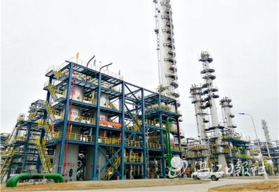 中科炼化20万吨/年MTBE装置一次开车成功