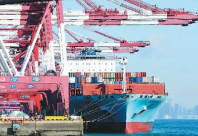 青岛外贸进出口实现两位数增长