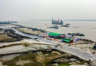 中国土木孟加拉国蒙格拉港疏浚二期项目顺利开工