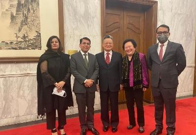 继往开来,共创中巴更美好未来——蓝迪国际智库受邀出席中国巴基斯坦建交70周年庆祝活动启动仪式