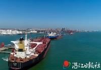 """湛江港集团迎史上""""最忙淡季"""" 2月货物吞吐量刷新历史同期纪录"""