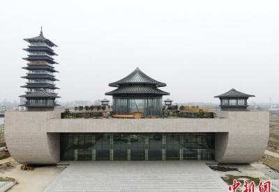 """""""古运河重生""""新地标扬州中国大运河博物馆""""全景""""亮相"""