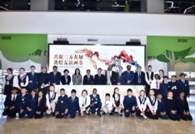 中国-阿富汗-巴基斯坦三国青少年美术作品展览开幕式暨颁奖典礼在京举行