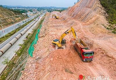 湛江市引调水工程施工如火如荼进行中