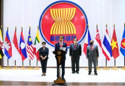 东盟领导人缅甸问题特别会议达成五点共识