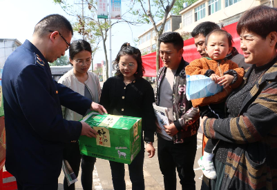 安徽固镇县市场监管局:开展地理标志商标宣传进乡村活动