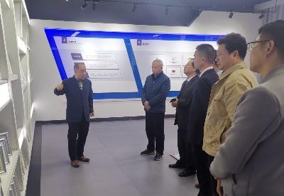 蚌埠市电子信息产业联盟赴海勤科技开展企业咨询诊断服务活动