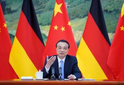 """中德25位部长""""云磋商"""",两国总理见证释放了哪些信号?"""