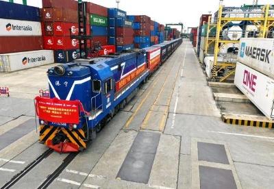 广州港首开中欧班列  近1.5亿元货值创新高