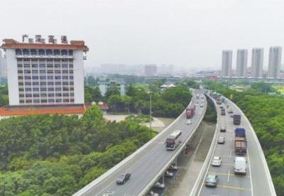 """广深高速开启大湾区""""黄金通道"""""""