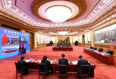 中法德领导人视频峰会释放三大信号