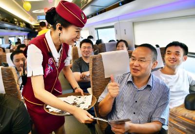 十年荣耀 百年献礼:开通运营十周年,京沪高铁尽展风采
