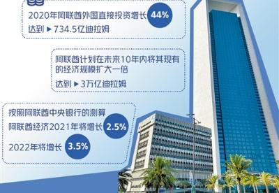 阿联酋外国直接投资逆势增长