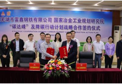 安徽芜湖:企业牵手科研院所走低碳绿色发展之路