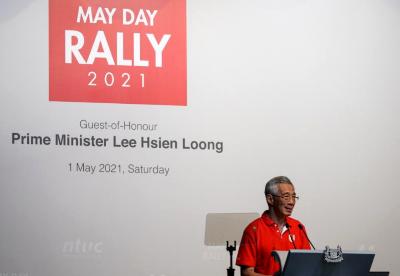 新加坡总理预测今年本国经济增长