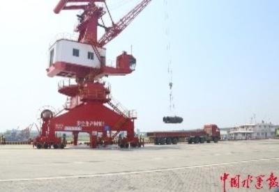 今年前4月江西港口吞吐总量和增幅均位居全国内河港口前列